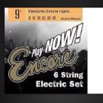 Encore EES9 Electric Guitar Strings Nickel Wound Extra Light 9-42